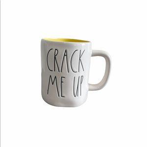 NWOT Rae Dunn ' Crack Me Up' Rare Mug